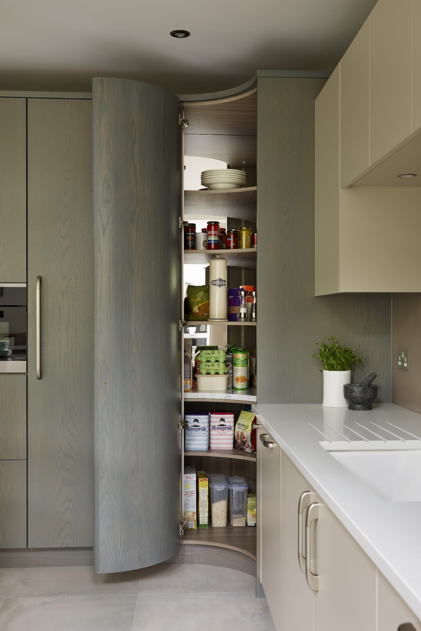 The Kitchen Pantry Amp Larder Making Storage Beautiful