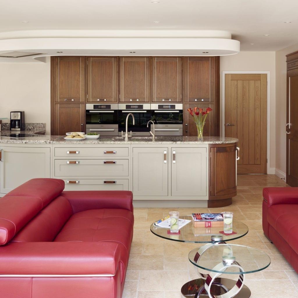 Kensington Kitchen: Open Plan Kitchen Living