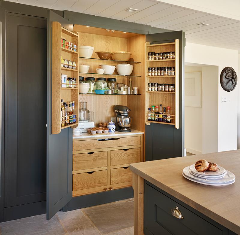 Kitchen Pantry Storage Solutions: The Kitchen Pantry & Larder