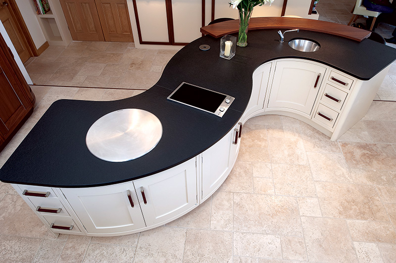 Inspiration For Curved Kitchens