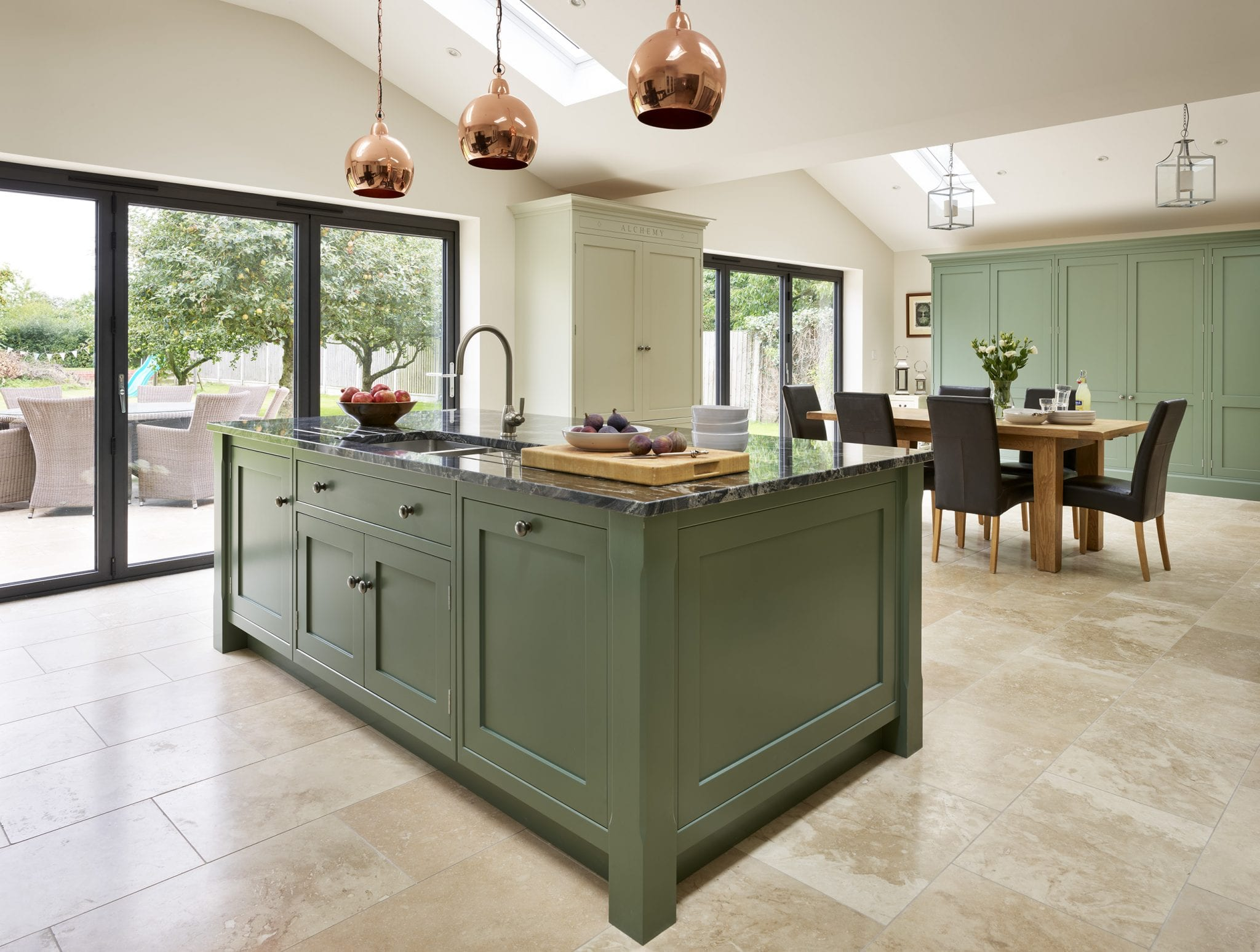 With Two Sets Of Bi Fold Doors Running The Full Width