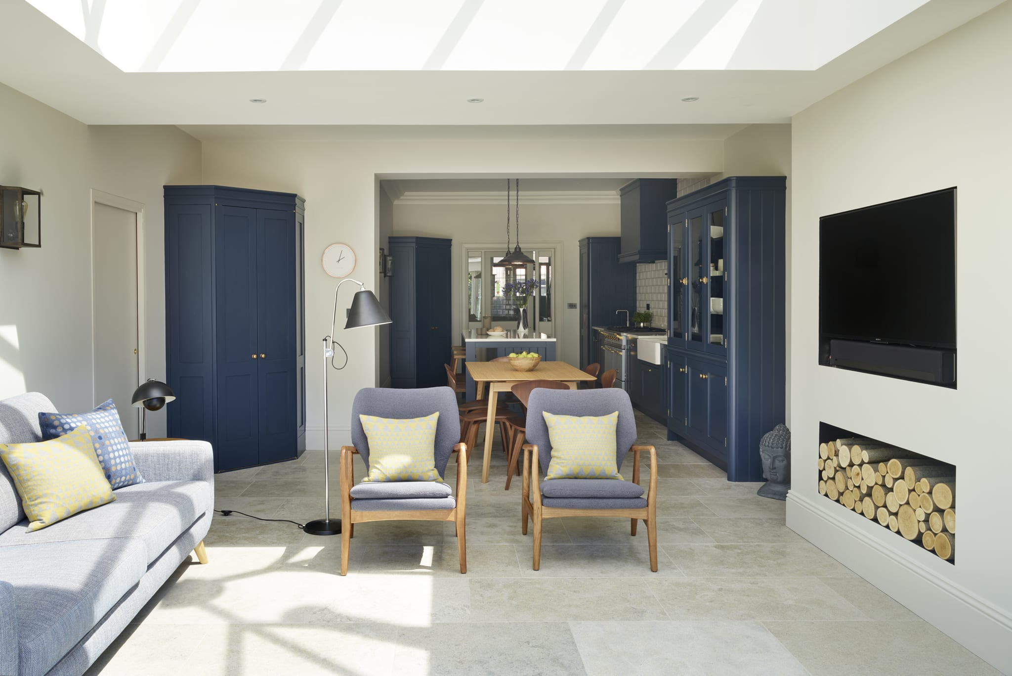 If Youre Planning An Open Plan Kitchen Without A Large Square Space Youd Be Forgiven For Thinking It May Not Feasible However Our Hove Townhouse