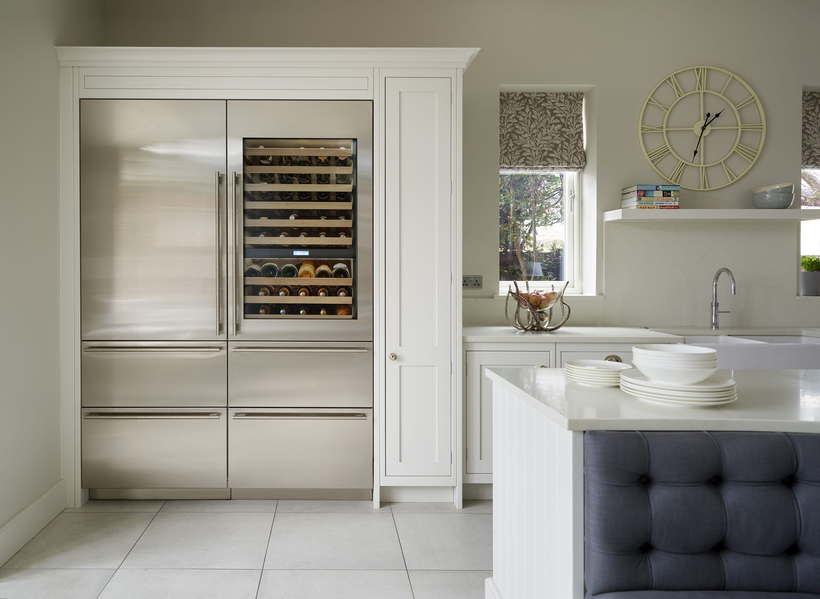 Tillingham kitchen wine cooler